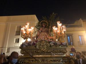 Salida de la Pastora de Santa Marina el domingo 19 de septiembre de 2021.